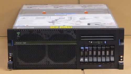 IBM pSeries Power 740 Server 8205-E6B SIX-CORE 3.72GHz CPU, 64Gb, + Extra Spec